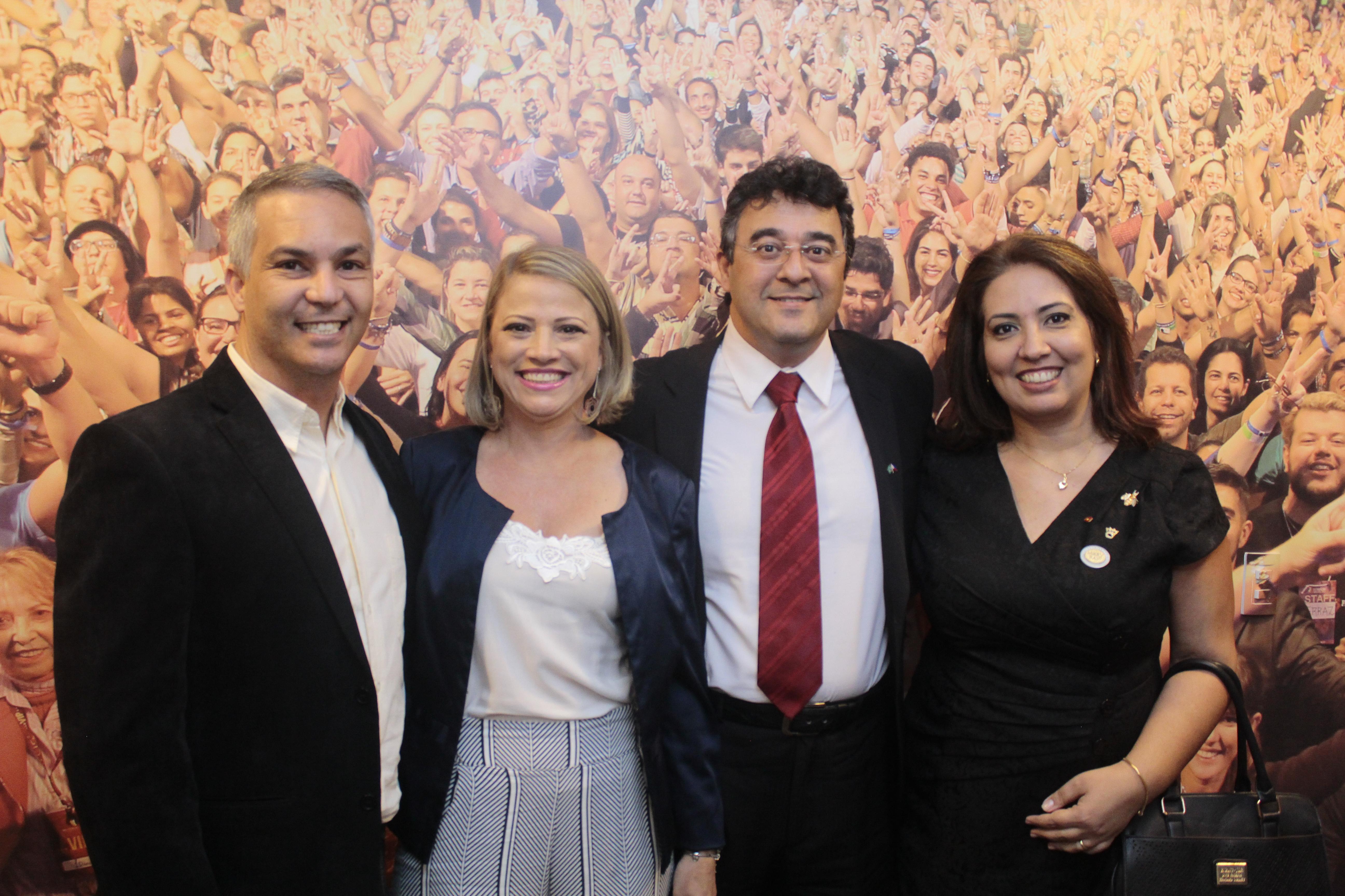 André Viana e ivonete Viana, Miriam e edilio Cavalcante
