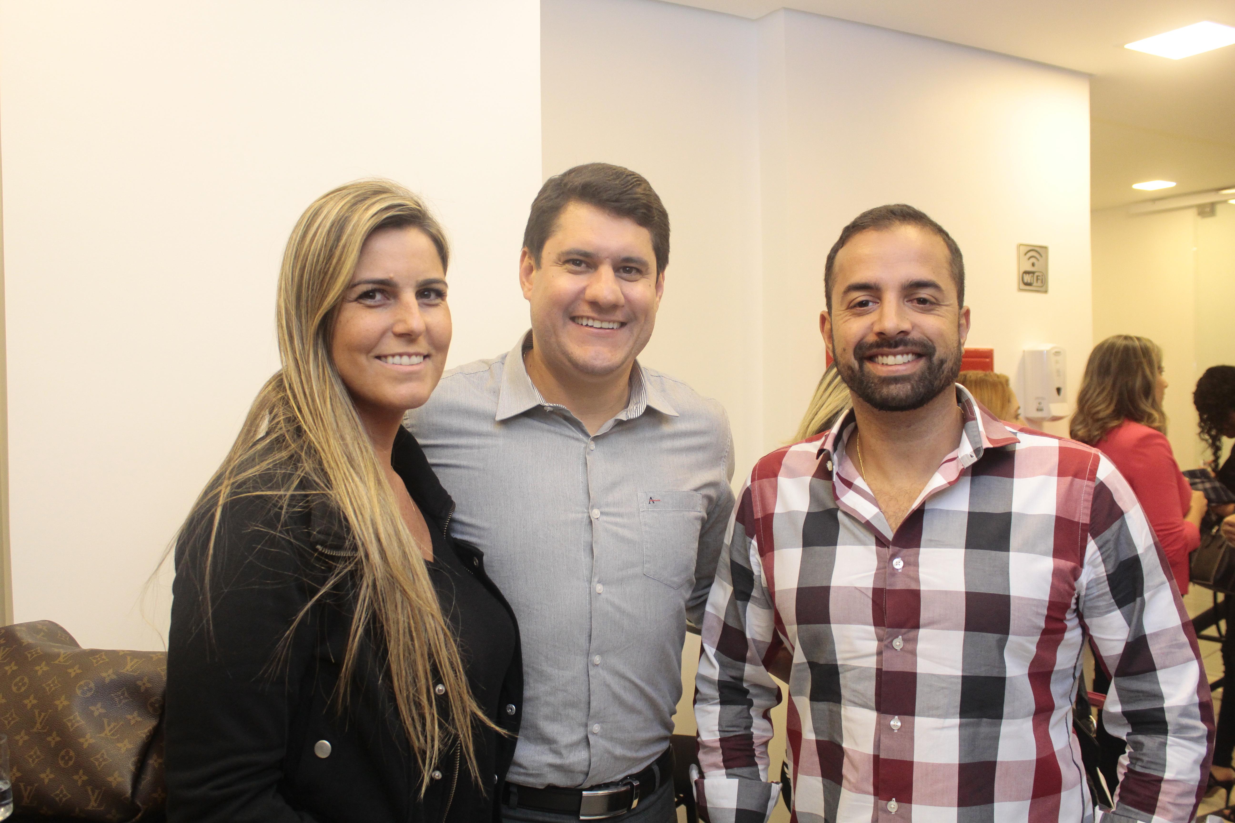Renata Madureiro, Daniel Rangel, Roberto Guedes