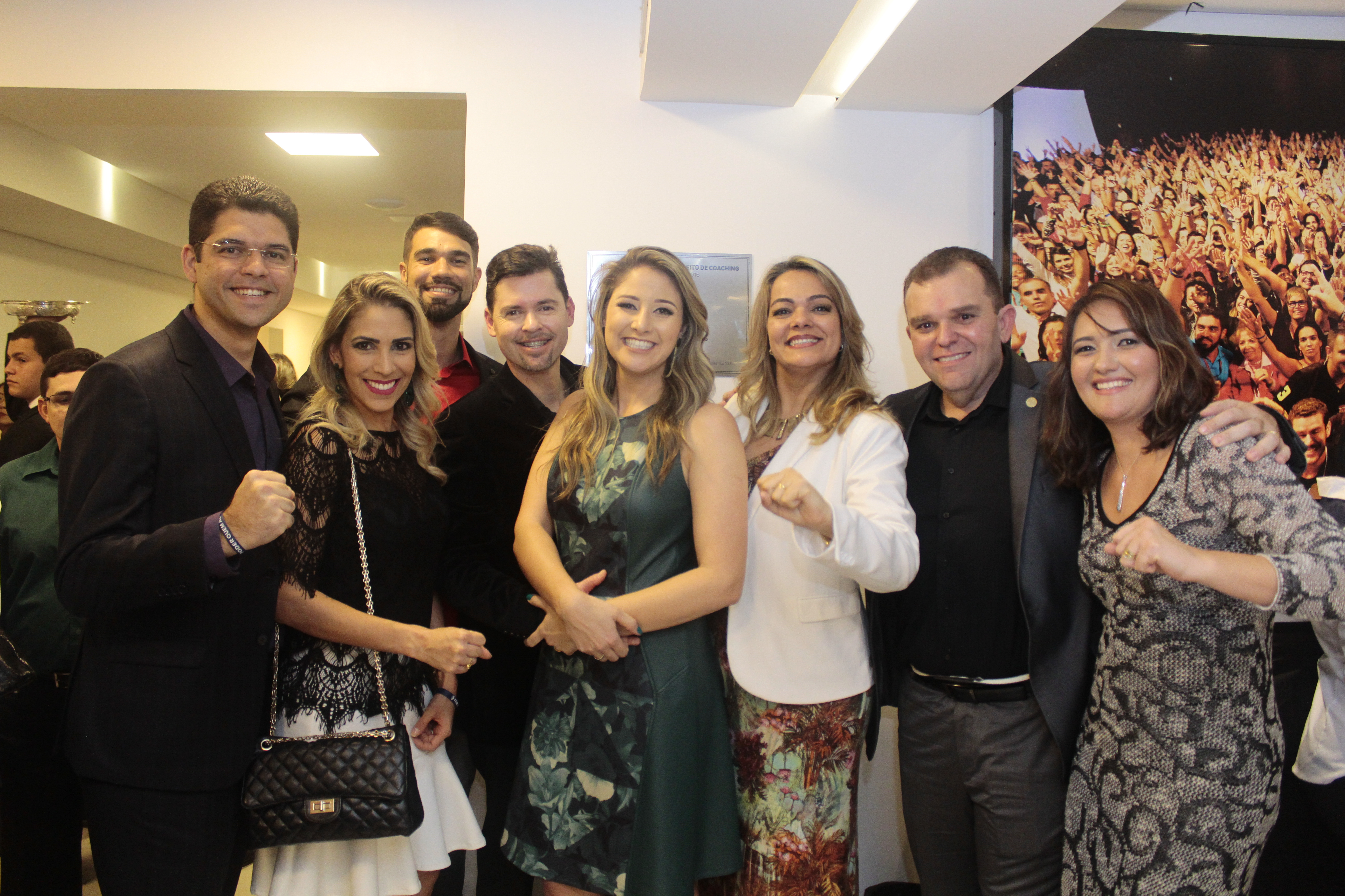 Ronald Gomes, Aline marra, Gustavo Sampaio, Luiz Paulo, Thais Machado, Fabiane Kesseler, Giovanni Brito e Taís Santos