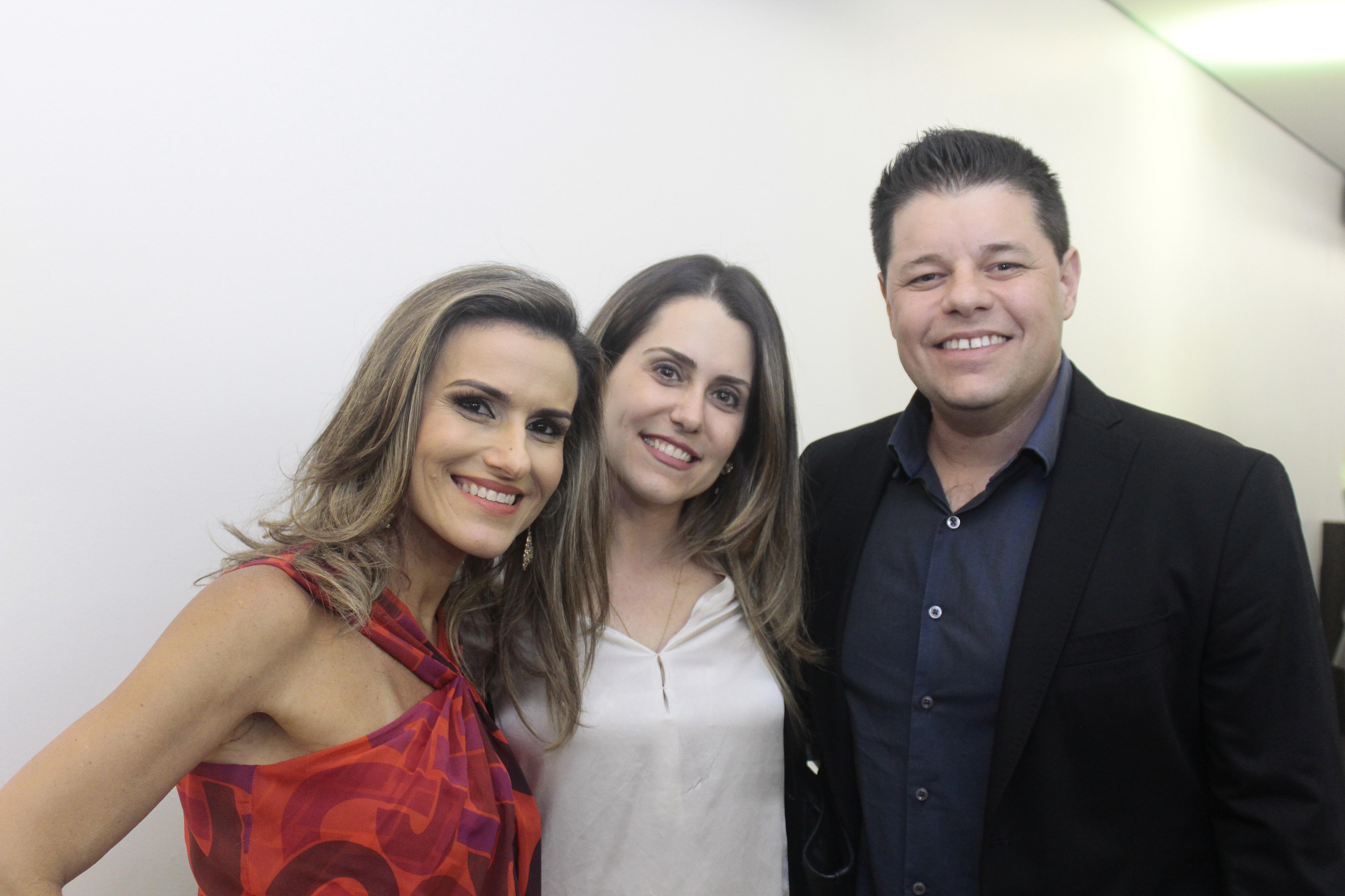 Camila Vieira, Ricardo e Rachel Brandão