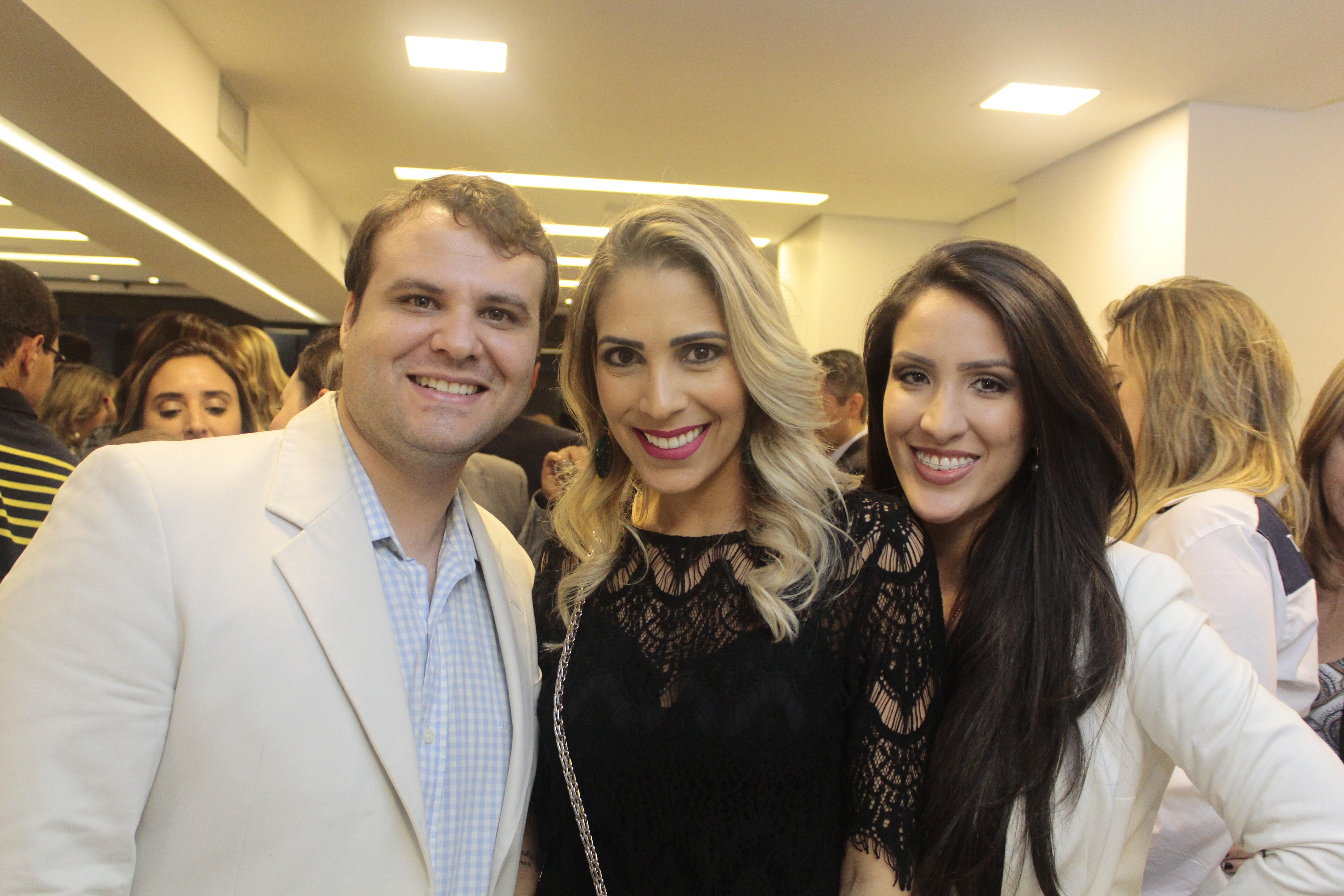 Davi marra, Aline mara e Rafaela Vilasboas