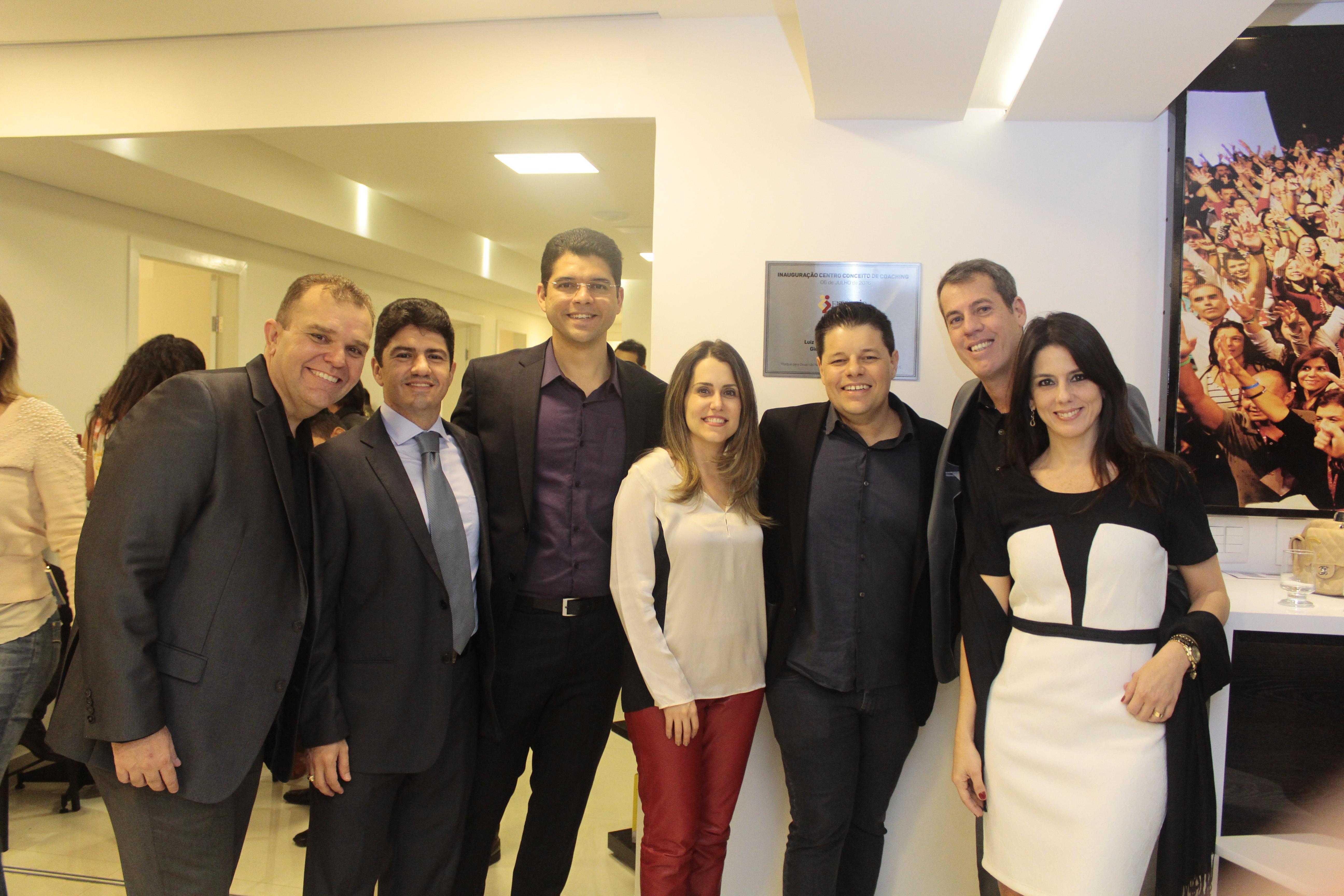Giovanni Santos, Júlio ponte, Ronald Gomes, Rachel e Ricardo Brandão, José André e Renata André