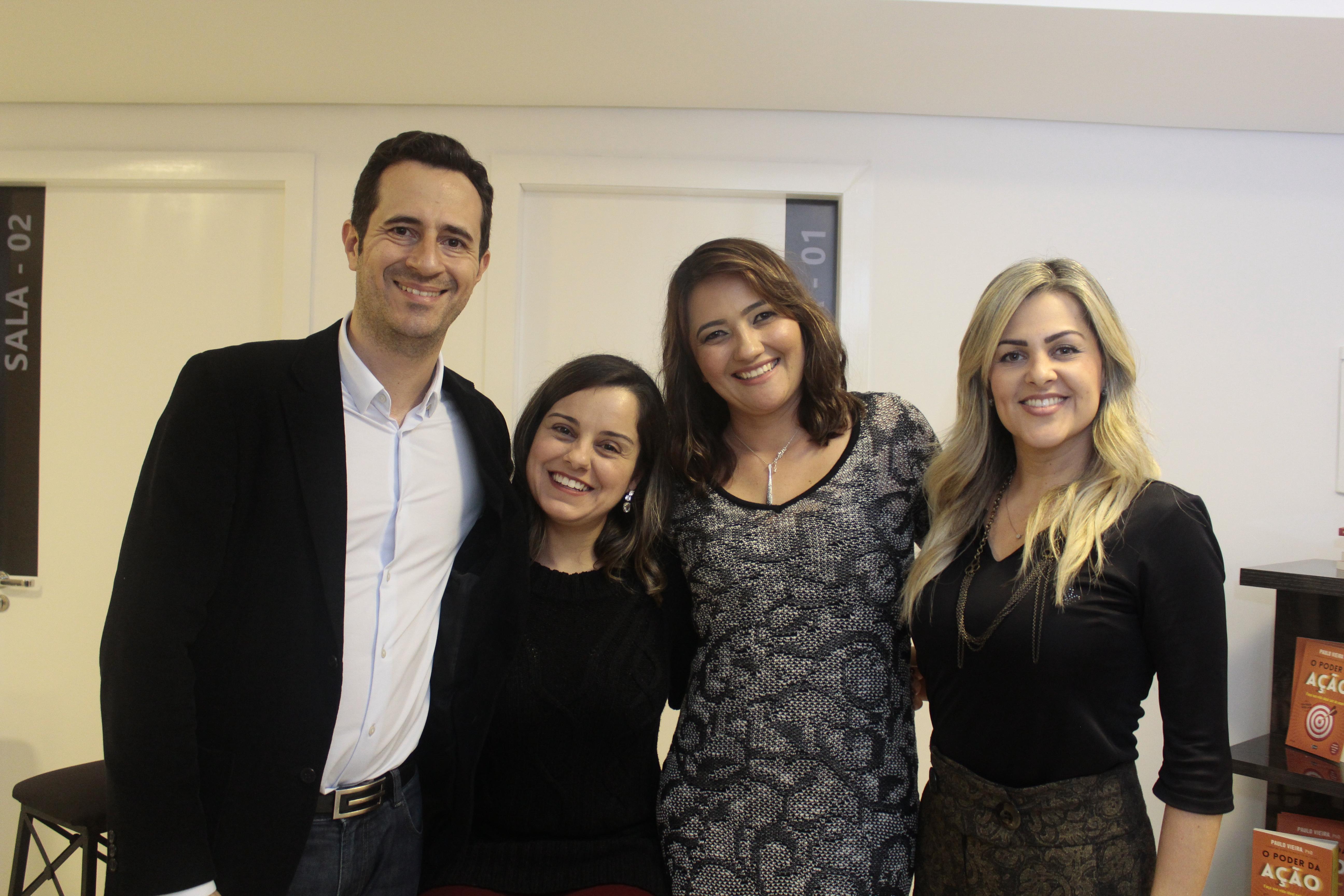 Tales Paes, Débora Paes, Thaís Ramalho, Danielle Adjuto