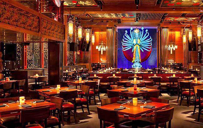Interior do restauranteTao Downtown - Arquivo pessoal