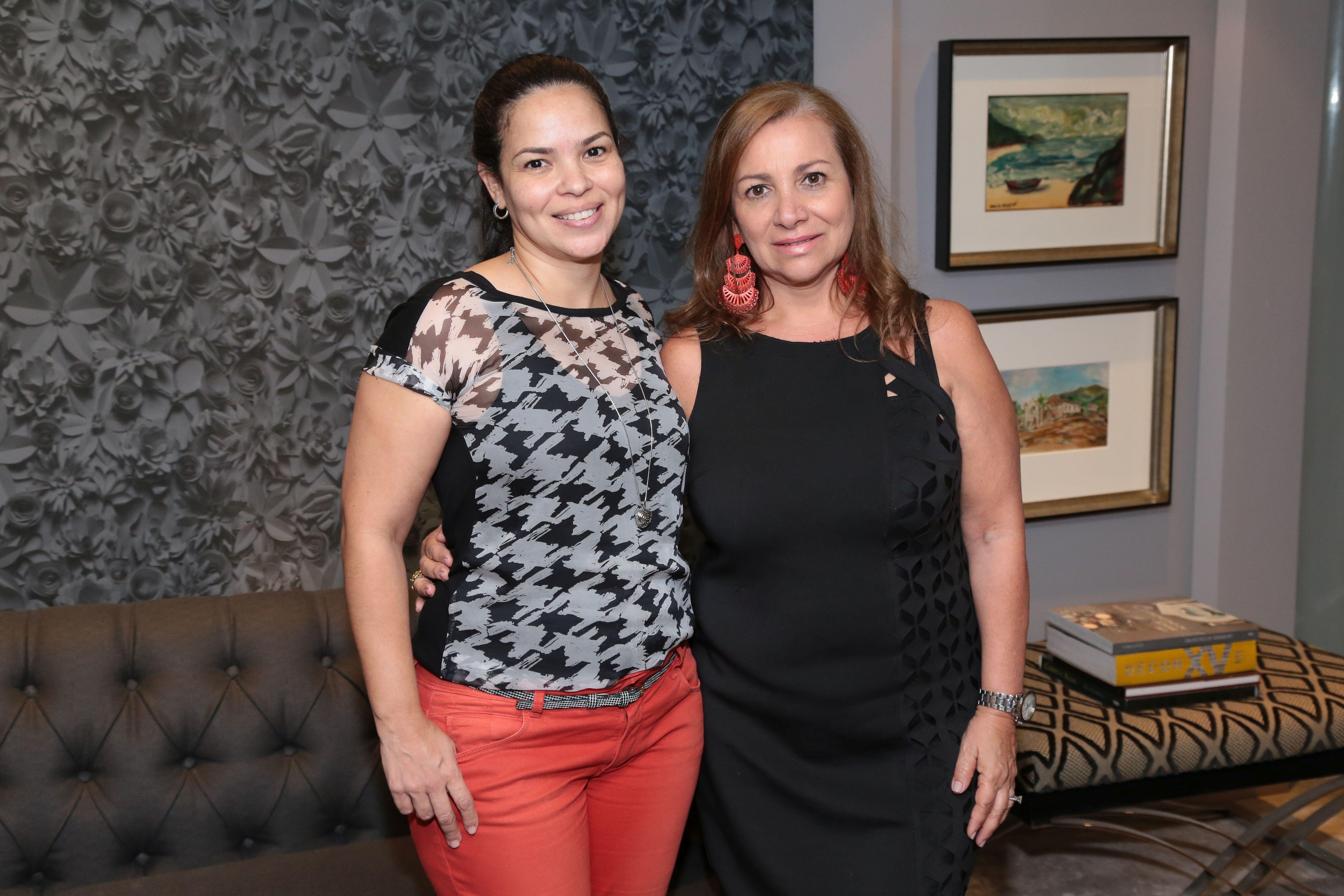 Aline Lima e Beatriz Pupe