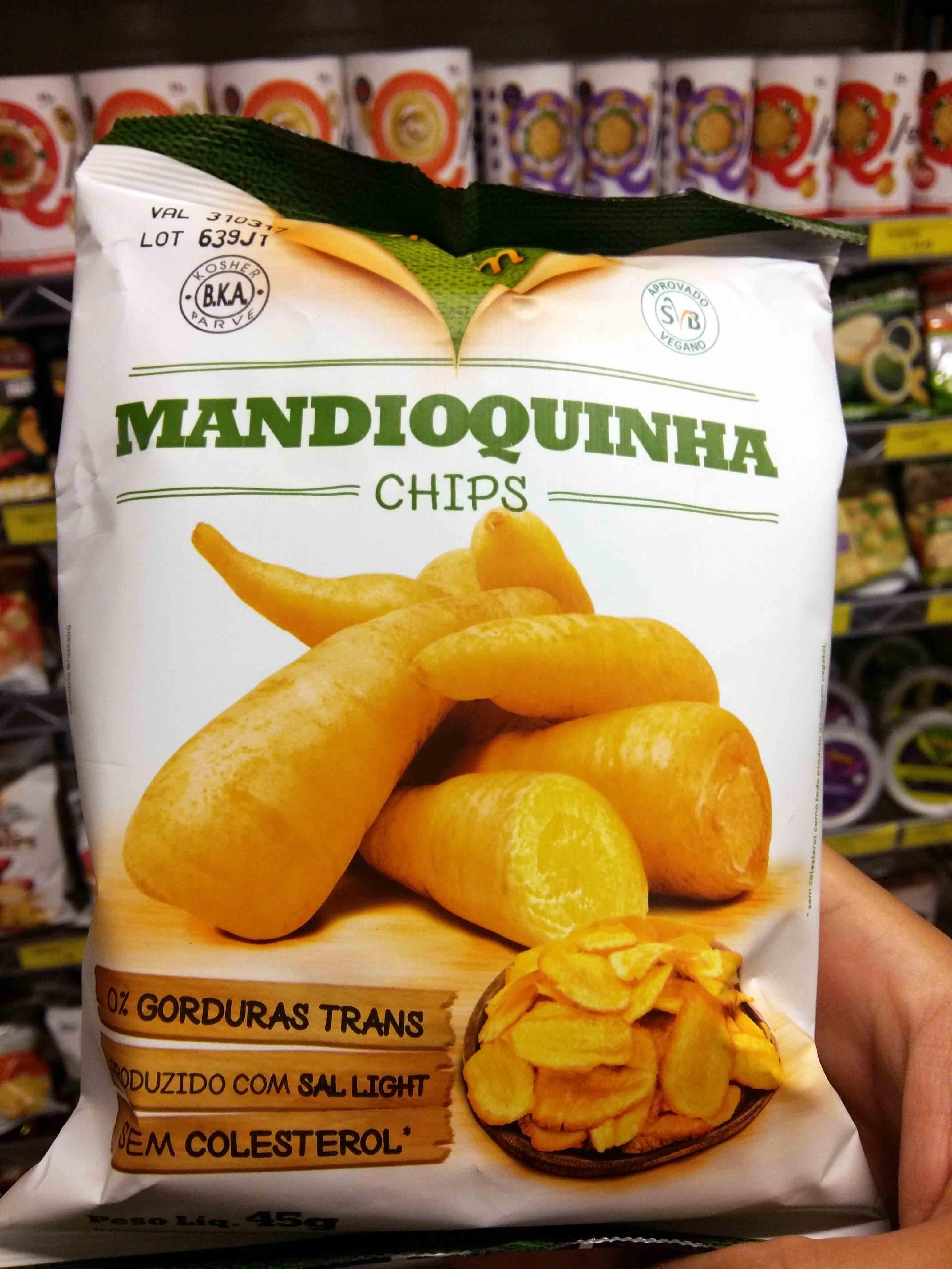 Eleve - Mandioquinha chips