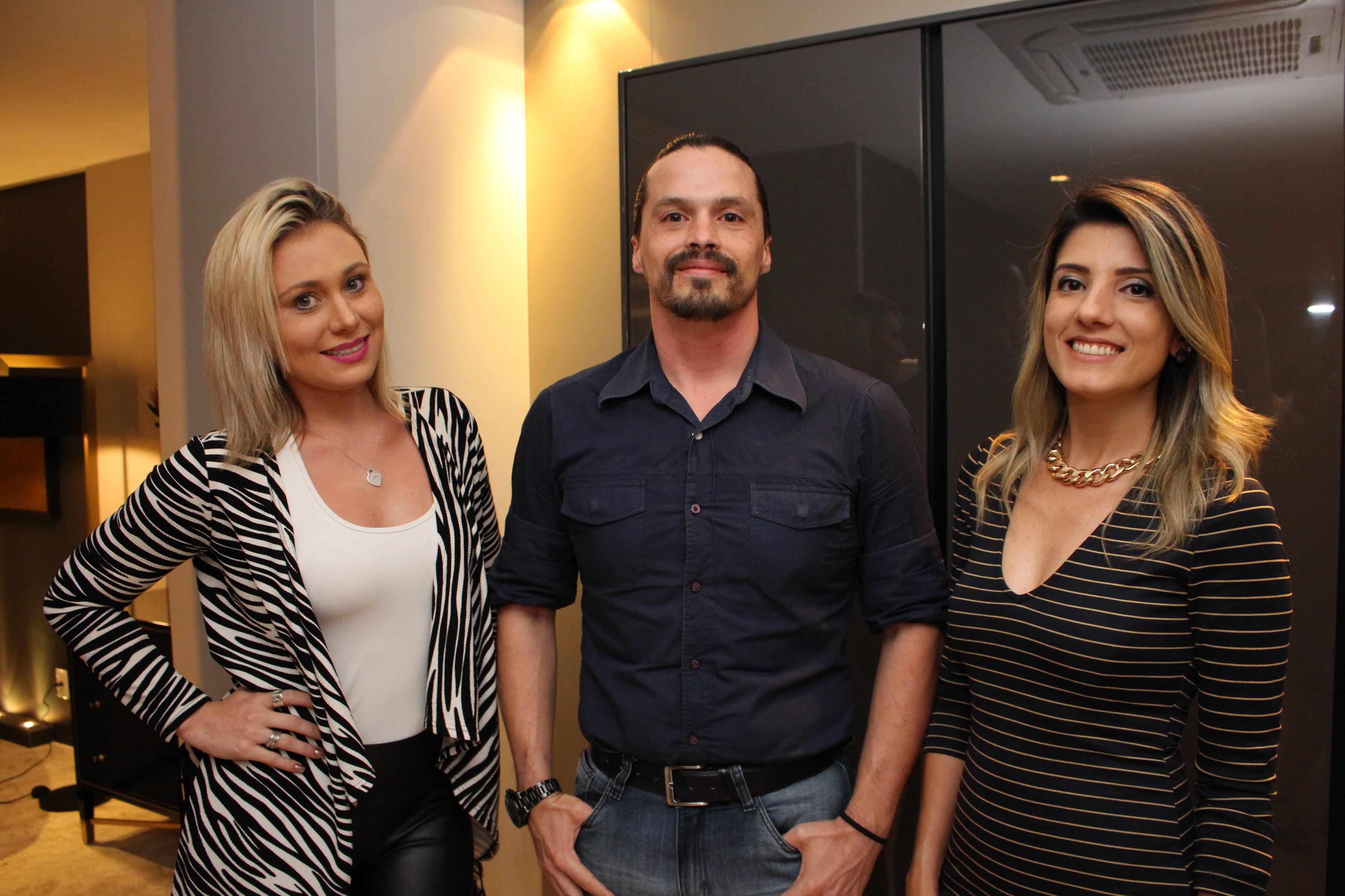 Renata Lagrotta, Alysson Vendramini e Paula Mora