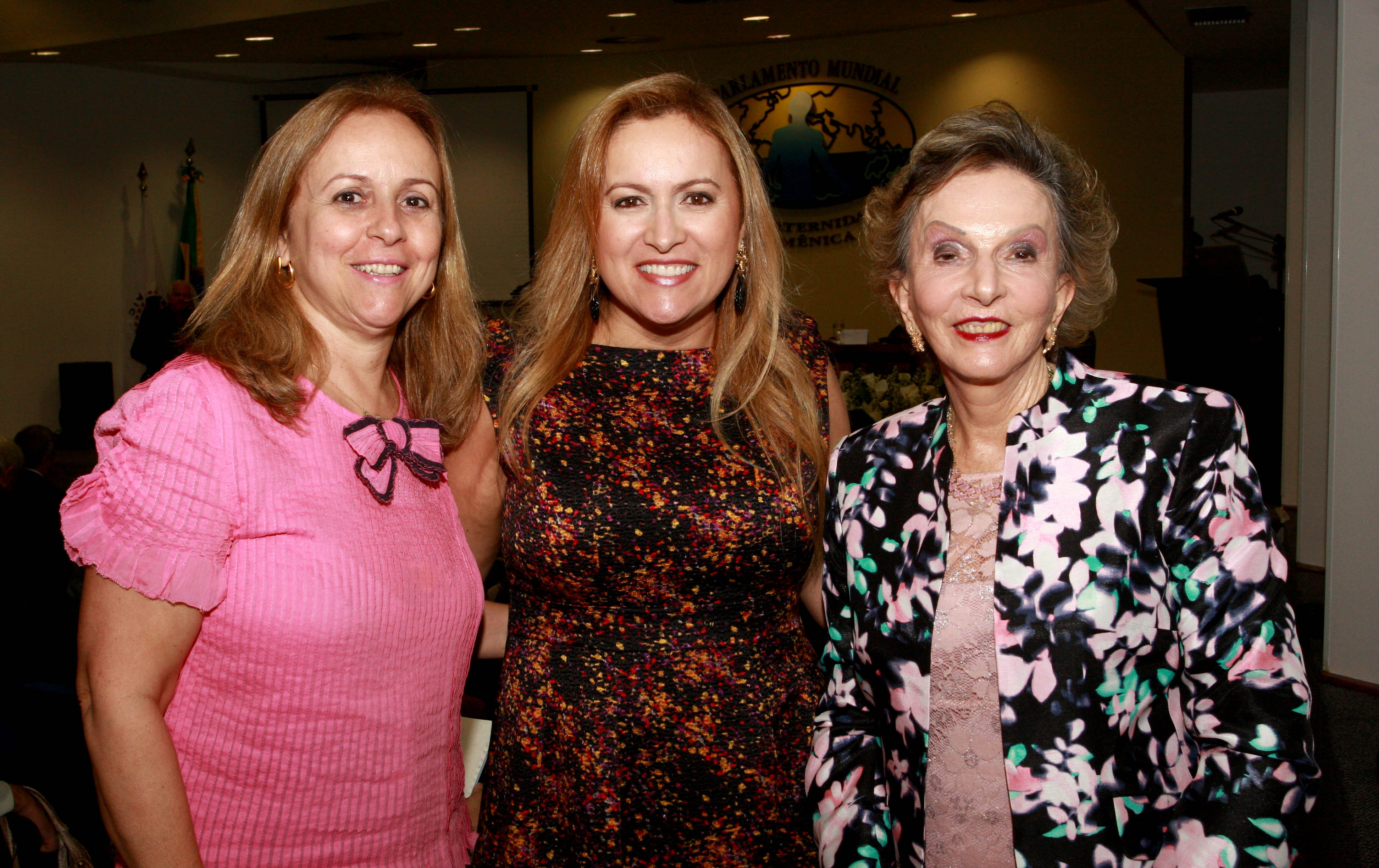 Mary de Oliveira, Marisa Macedo e Clotilde Chaparro