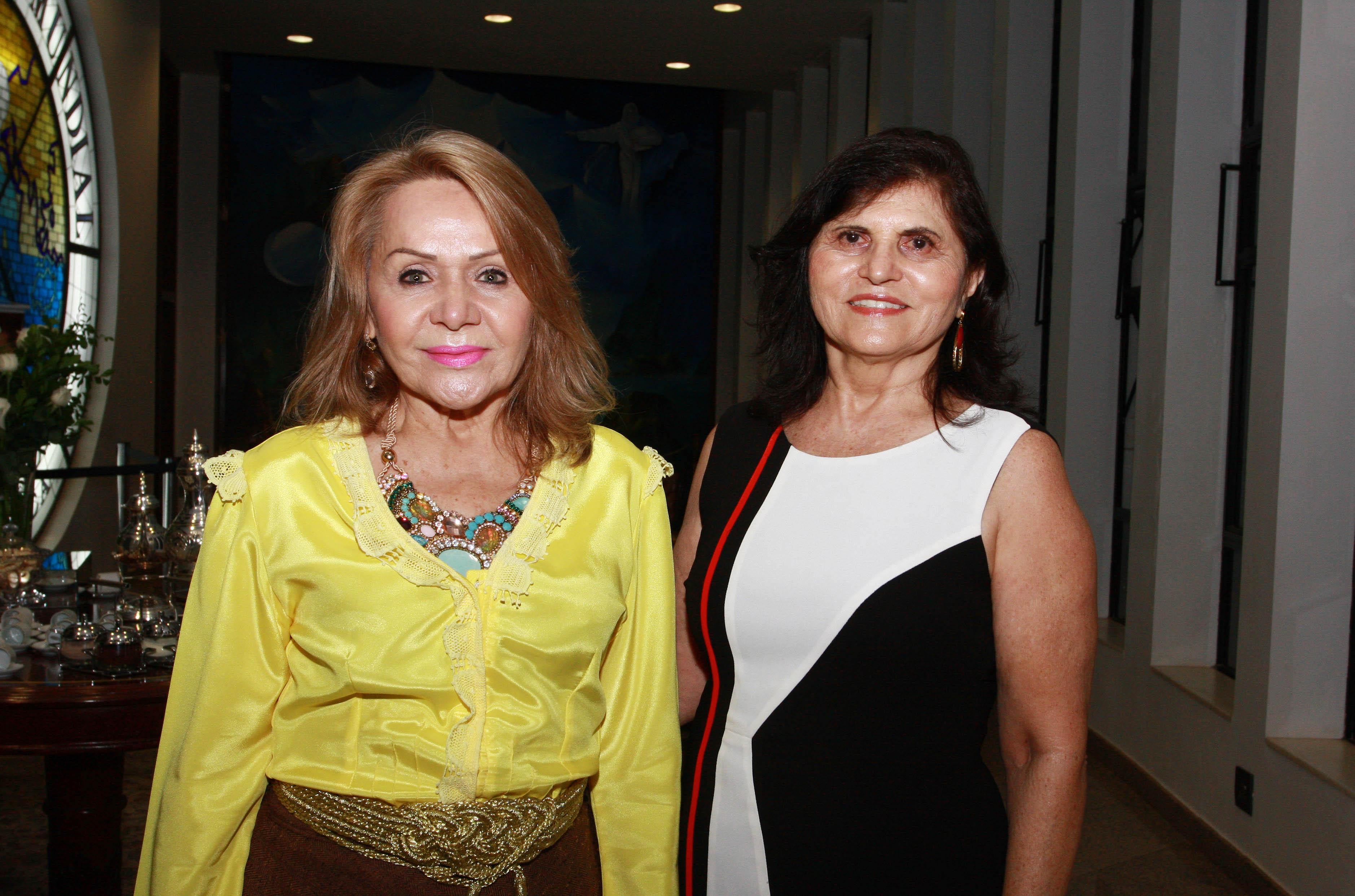 Aurinete Leire e Irene Maia