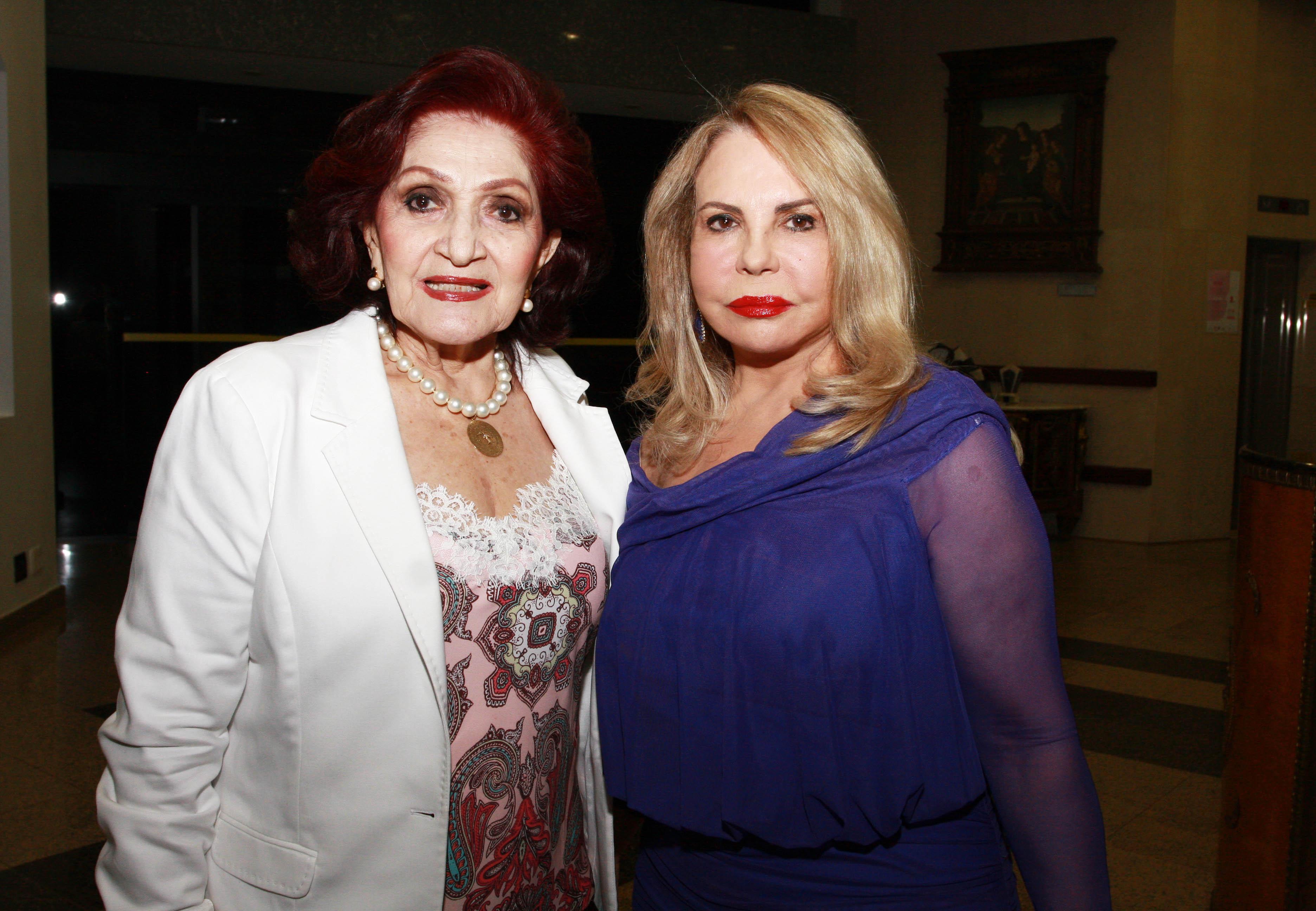 Odaiza Rodrigues e Gracia Cantanhede