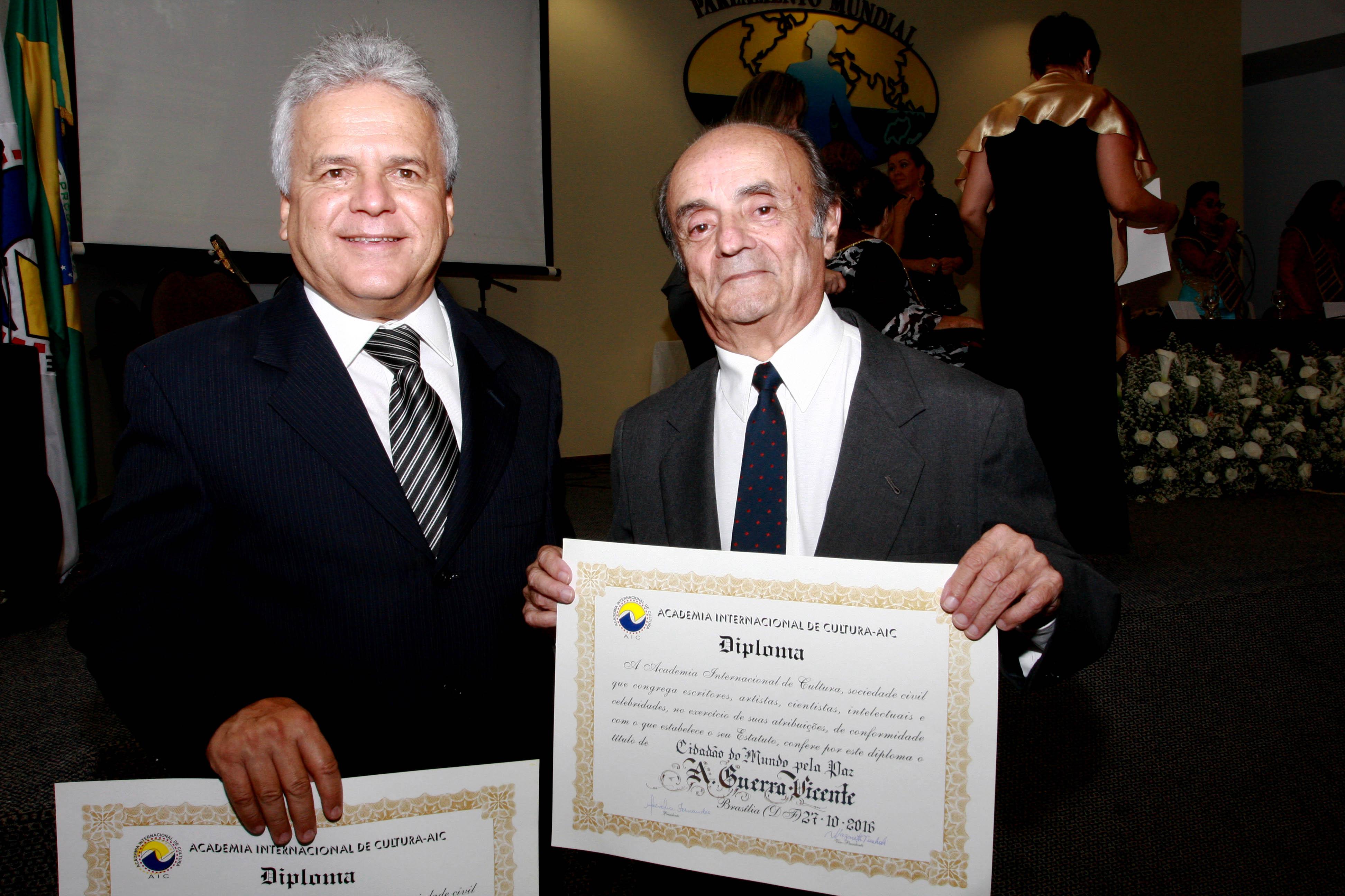 Luiz Carlos Fonseca e Antônio Gerra