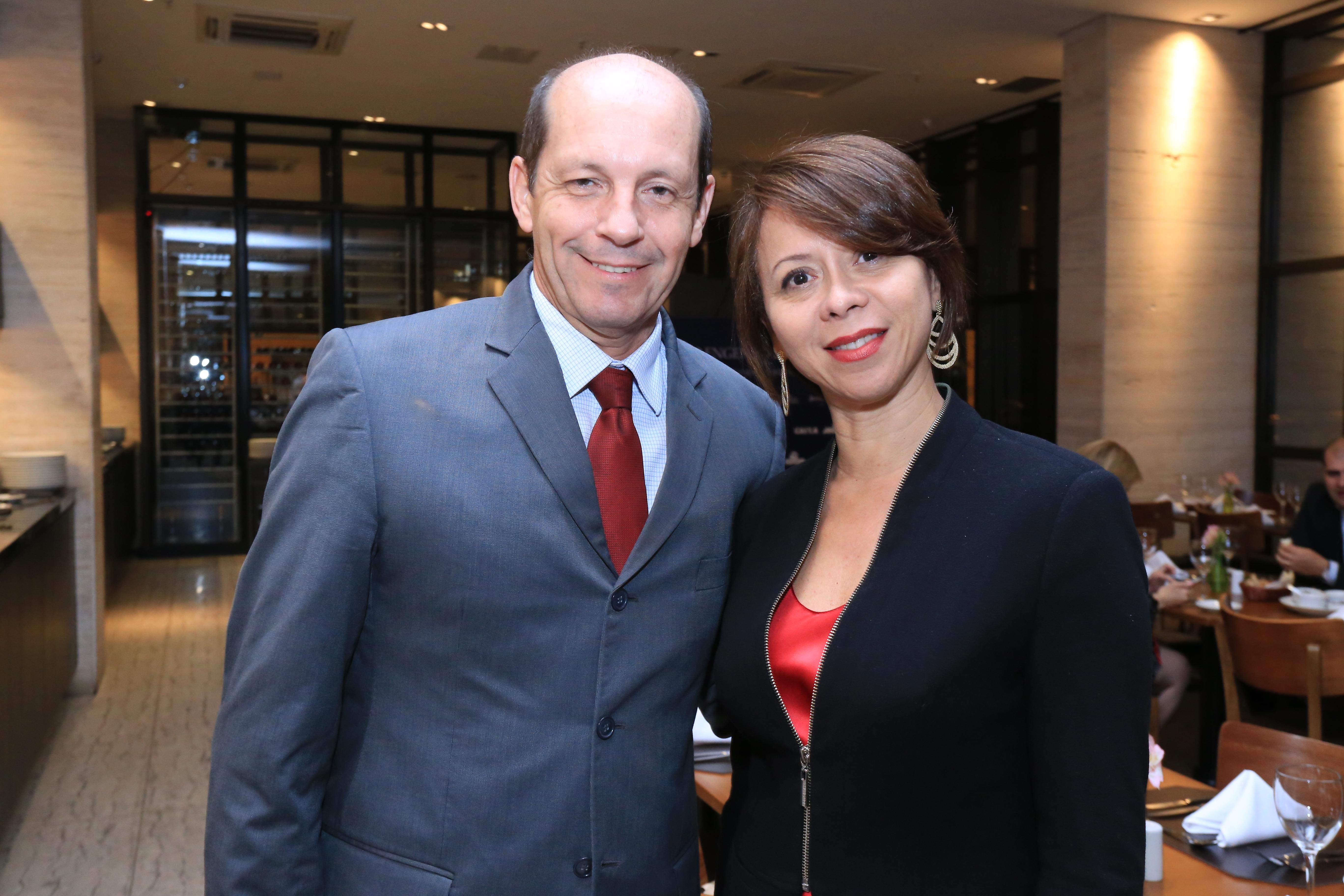 Marcelo Pimentel e Ana Lúcia Rodrigues