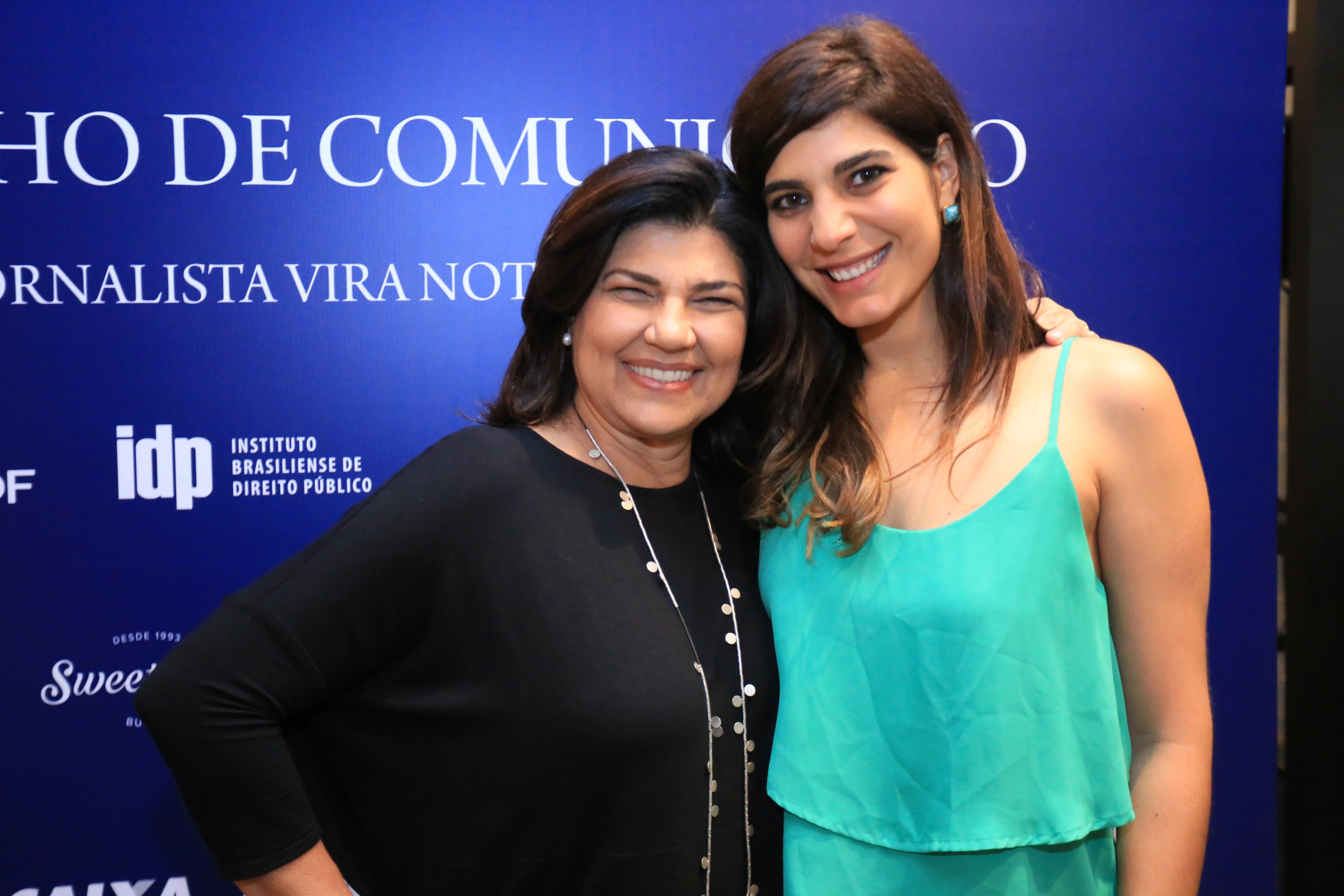 As jornalistas Cristiana Lobo e a Andréia Sadi