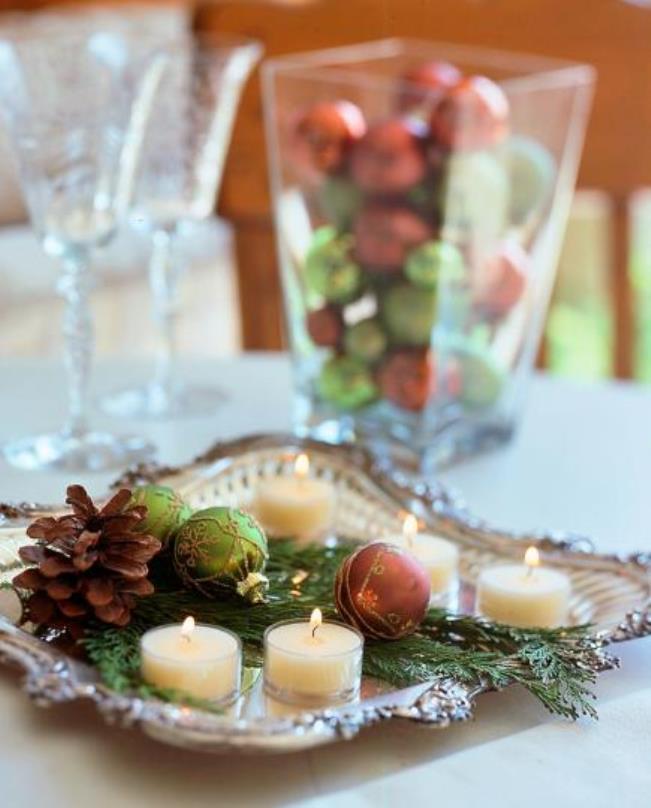 decoracao da mesa de natal 25 ideias para voce se inspirar : Enfeites natalinos para mesa: 10 ideias criativas e ...